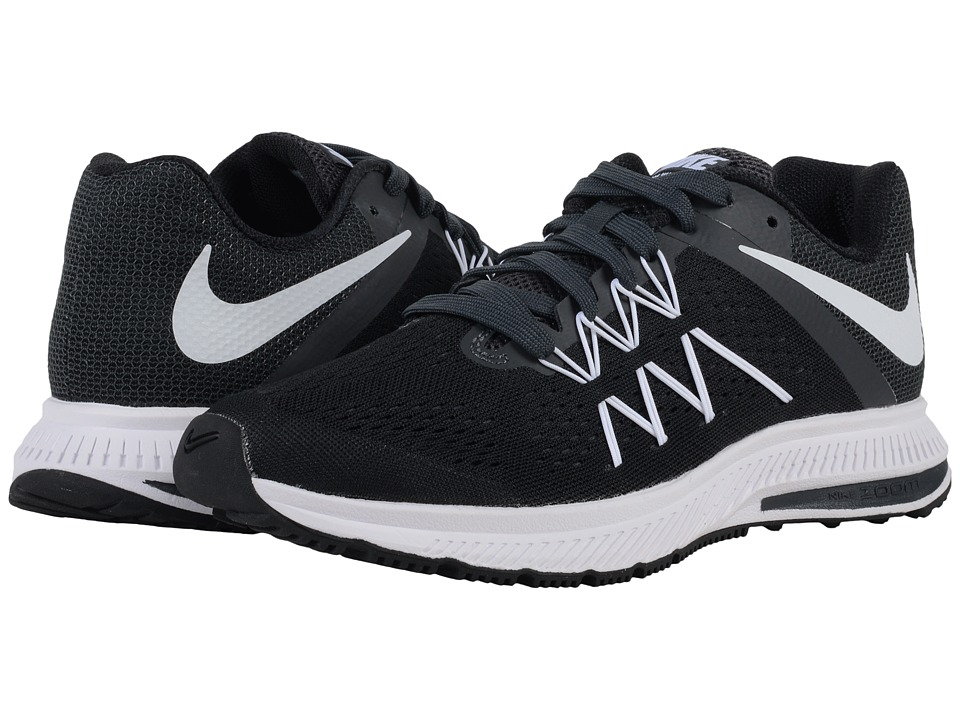 Nike - Zoom Winflo 3 (Black/Anthracite/White) Women's Running Shoes