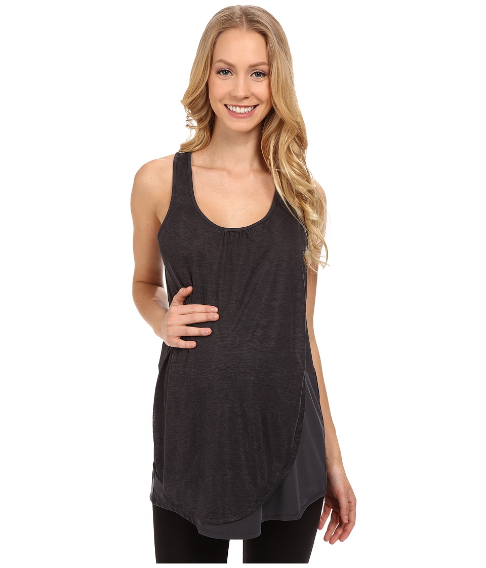 COZY ORANGE - Maternity Cooper Top (Dark Flint) Women's Sleeveless