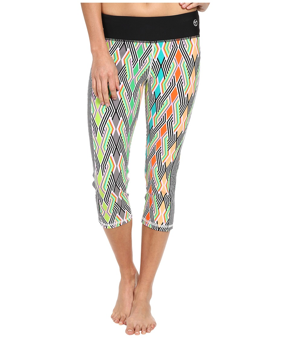 Trina Turk - Neon Lights Mid Length Leggings (Multi) Women's Workout