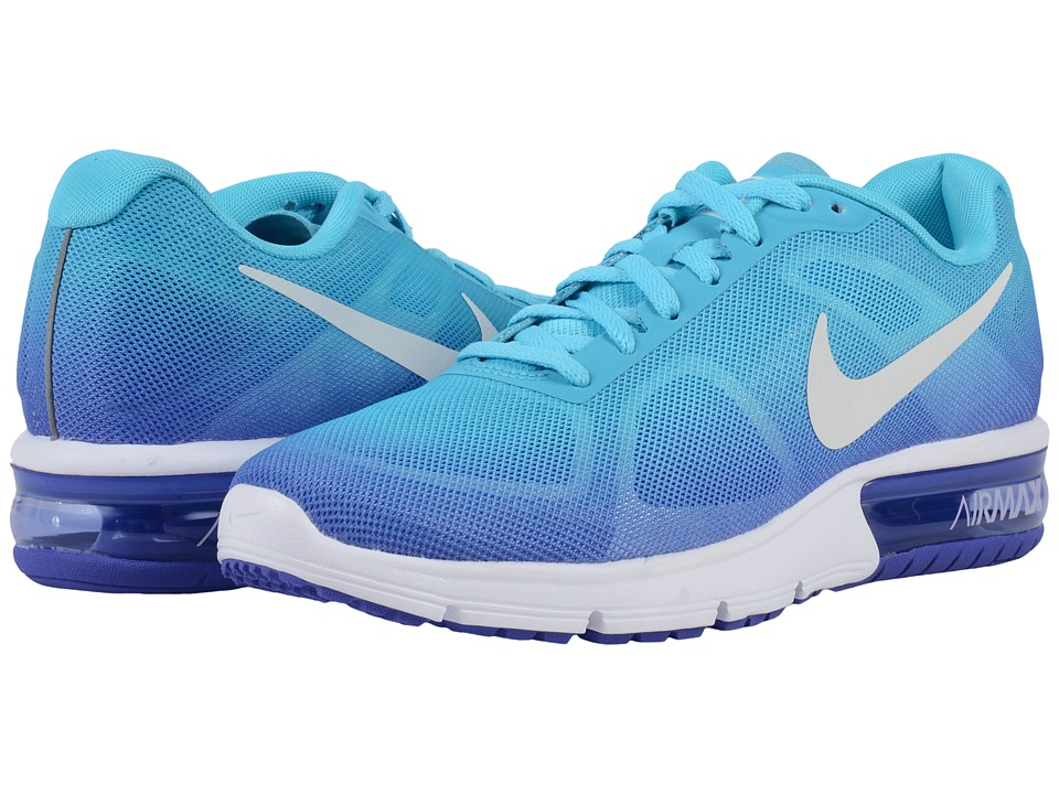 Nike - Air Max Sequent (Gamma Blue/Persian Violet/Concord/White) Women's Running Shoes