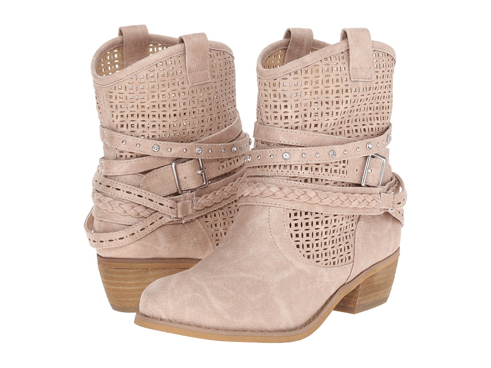 Not Rated - Van de Ort (Beige) Women's Dress Boots