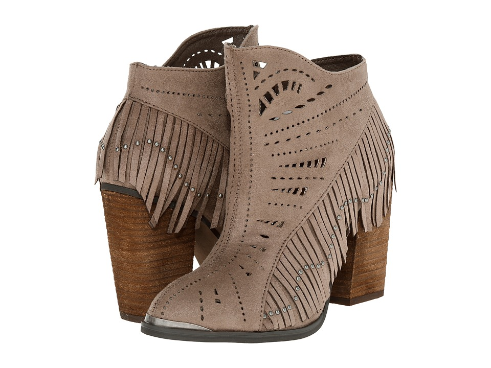 Not Rated - Fierce Fringe (Taupe) Women's Dress Boots