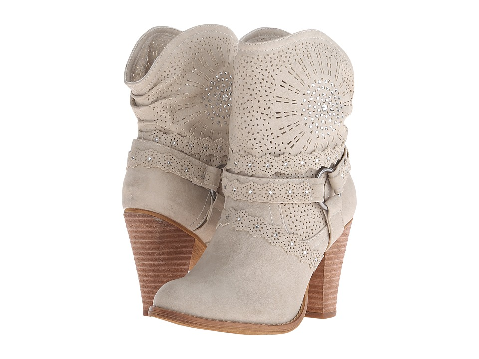 Not Rated - Adelaide (Cream) Women's Dress Boots