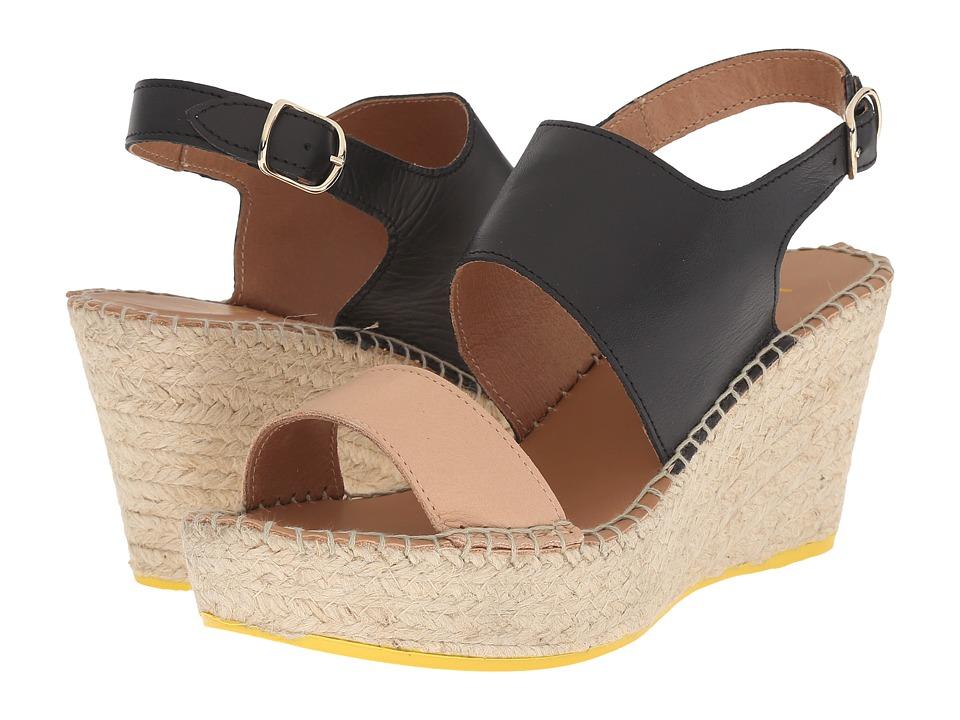 Lole - High Heel Sandals Billy (Black) Women's Wedge Shoes