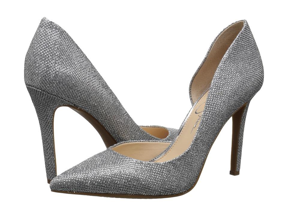 Jessica Simpson - Claudette (Silver Jessica Simpson Sparkle Mesh) High Heels