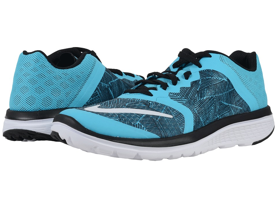 big sale c4028 03590 UPC 886551000481 - Nike - FS Lite Run 3 Print (Gamma Blue ...