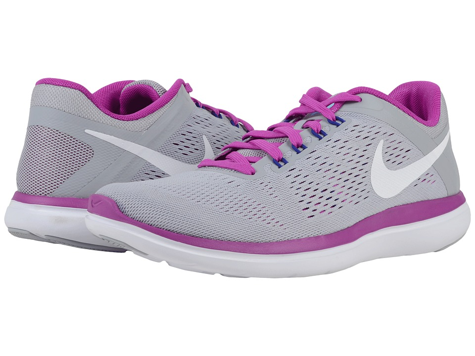 70b73058729 UPC 886548824120 product image for Nike - Flex 2016 RN (Wolf Grey Hyper  Violet UPC 886548824120 product image for Nike Flex 2016 Rn Womens Running  Shoes ...