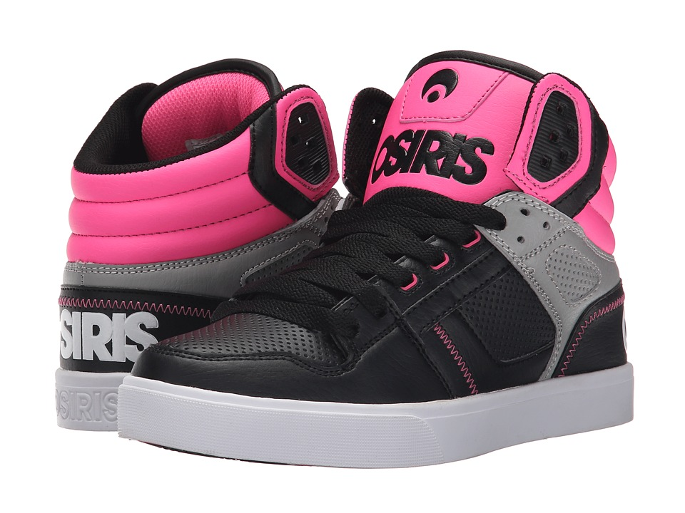 Osiris - Clone (Black/Pink) Women's Skate Shoes