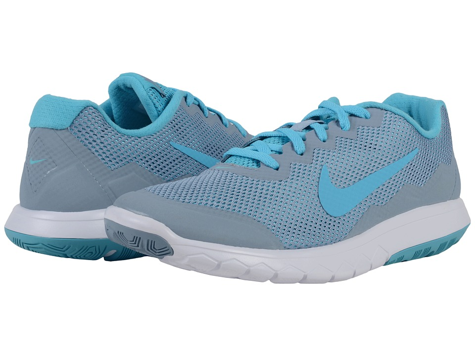 Nike - Flex Experience RN 4 (Blue Grey/Gamma Blue/White/Gamma Blue) Women's Running Shoes