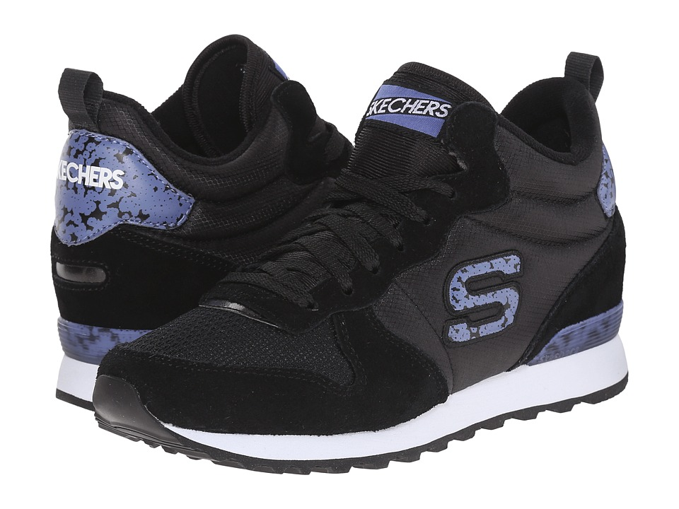 SKECHERS - OG 85 (Black) Women's Running Shoes