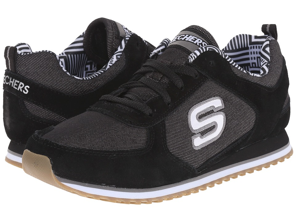 SKECHERS - OG 78 (Black) Women's Running Shoes