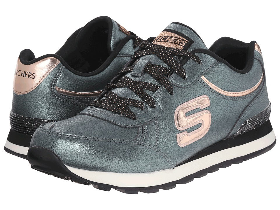 SKECHERS - Pearlized (Olive) Women's Running Shoes