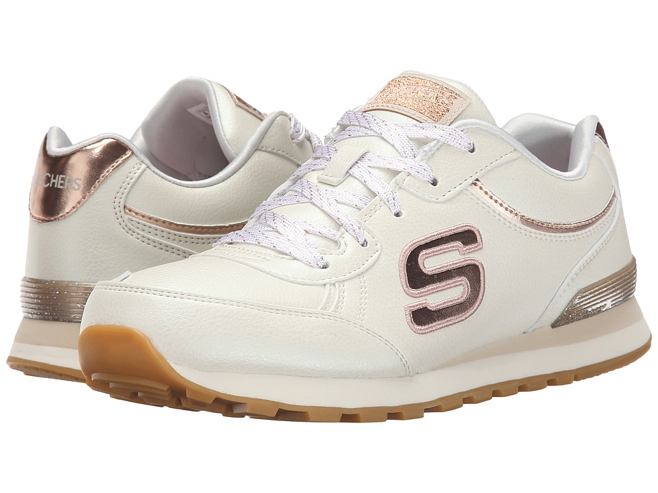 SKECHERS - Pearlized (White) Women's Running Shoes