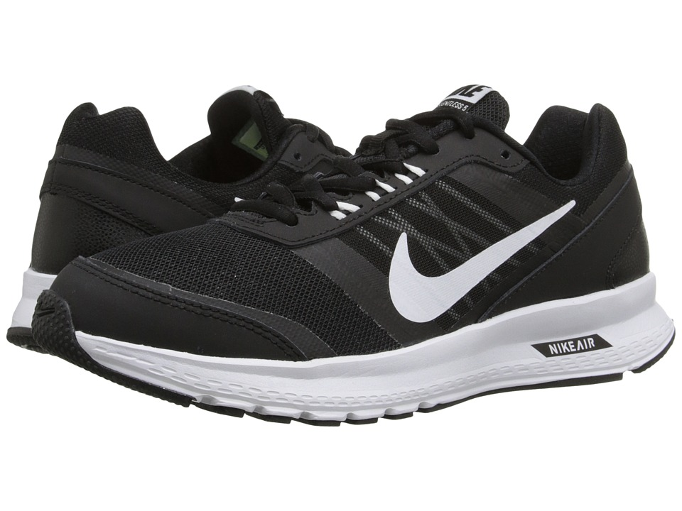 Nike - Air Relentless 5 (Black/Dark Grey/White) Women's Running Shoes