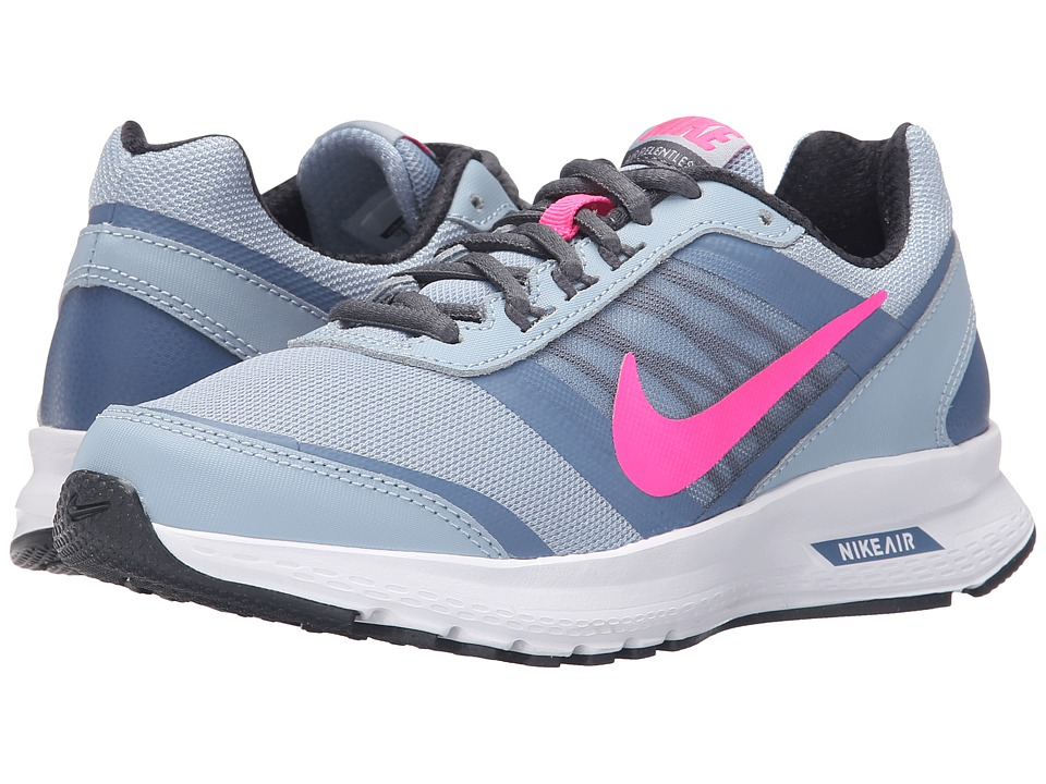 Nike - Air Relentless 5 (Blue Grey/MTLC Hematite/White/Pink Blast) Women's Running Shoes