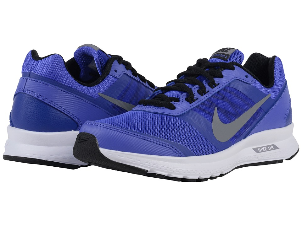 Nike - Air Relentless 5 (Persian Violet/Black/White/Cool Grey) Women's Running Shoes