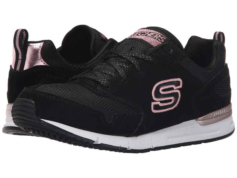 SKECHERS - OG 92 (Black/Gold) Women's Running Shoes