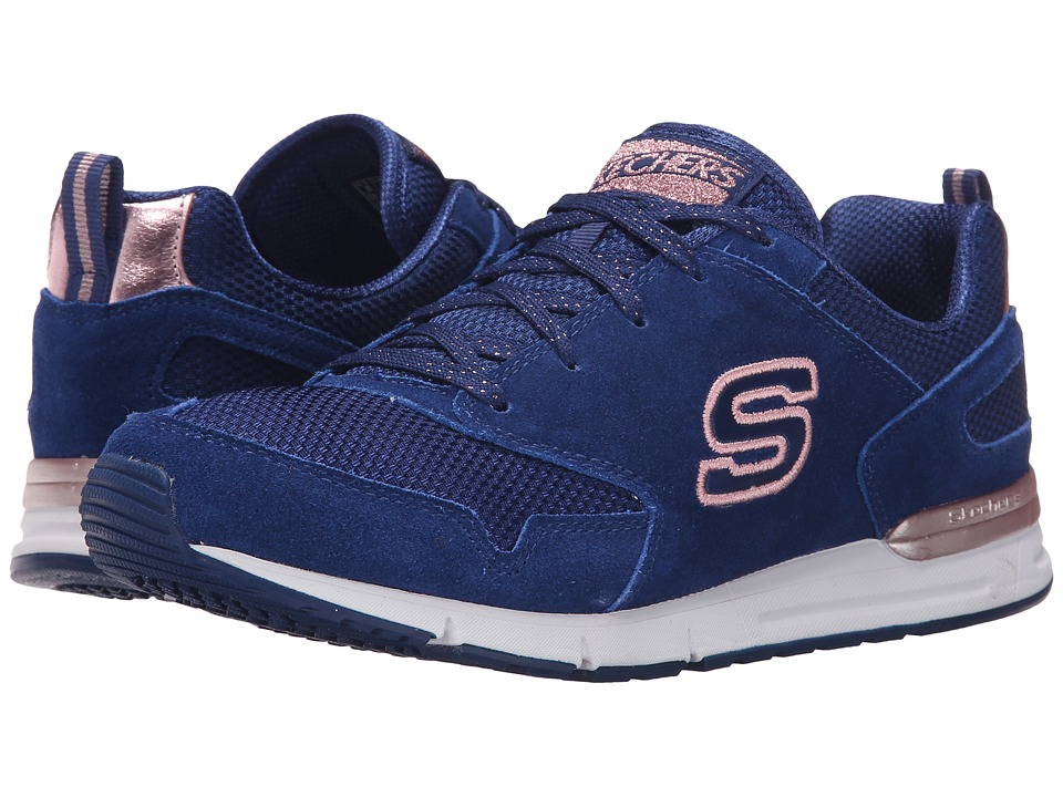 SKECHERS - OG 92 (Navy/Gold) Women's Running Shoes