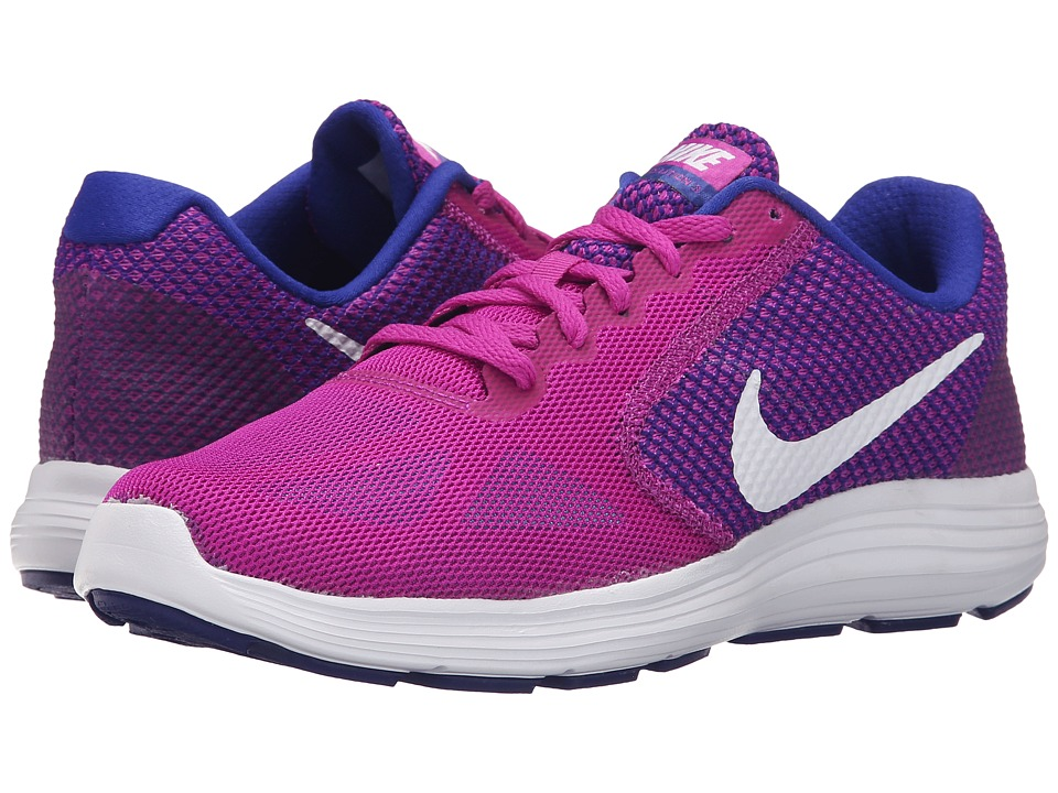 Nike - Revolution 3 (Hyper Violet/Concord/Gamma Blue/White) Women's Running Shoes