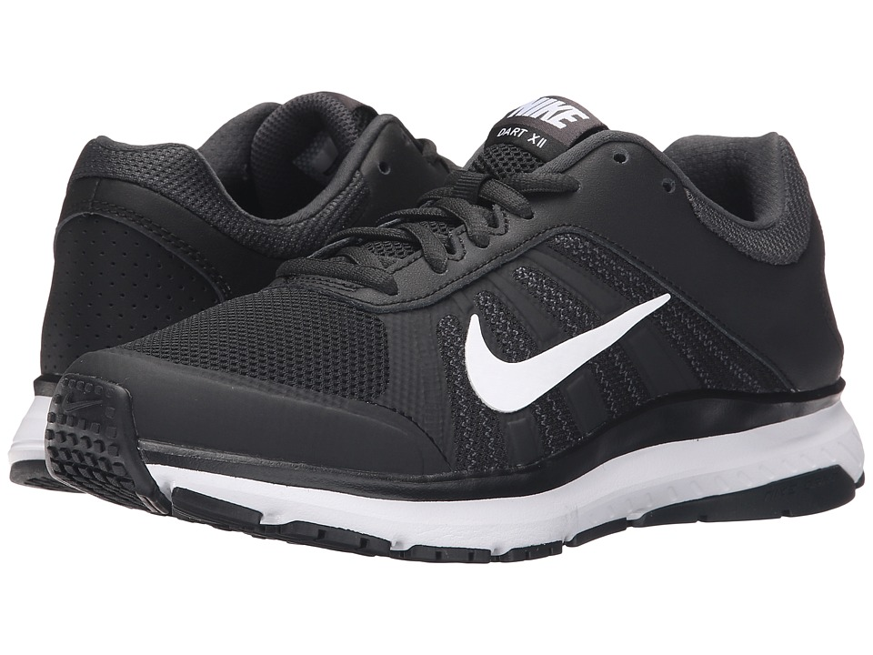 Nike - Dart 12 (Black/Anthracite/White) Women's Running Shoes