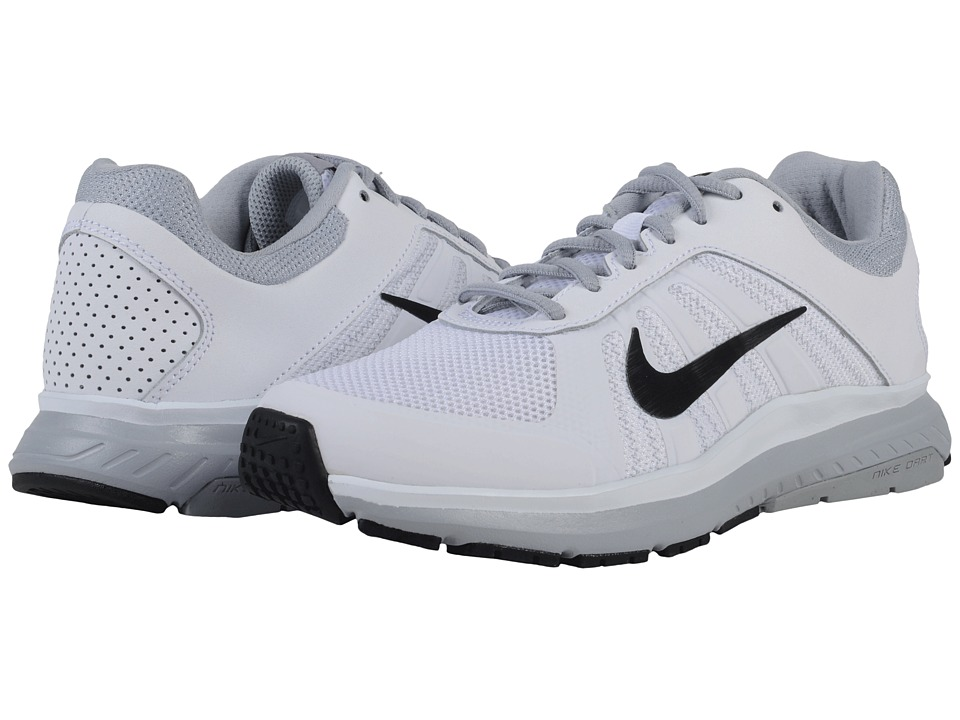 Nike - Dart 12 (White/Wolf Grey/Black) Women's Running Shoes