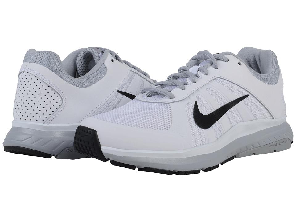 Nike - Dart 12 (White/Wolf Grey/Black) Women's Running Shoes