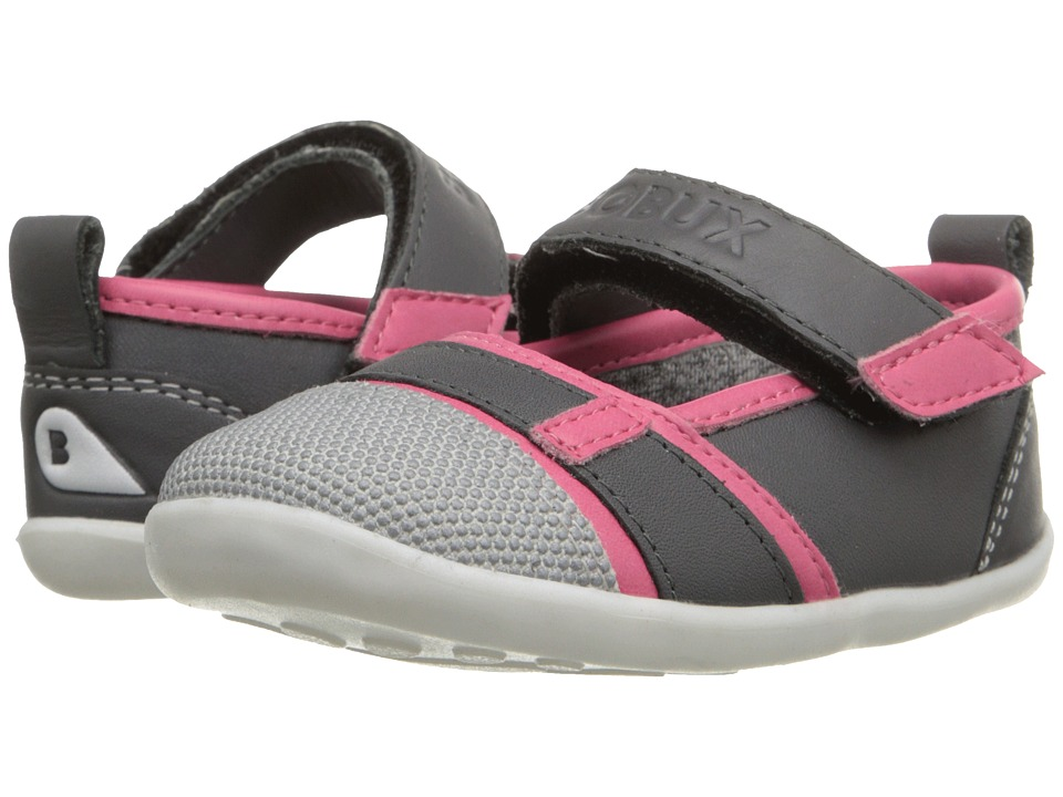 Bobux Kids - Step-Up Street Hydra (Infant/Toddler) (Fuchsia/Gray) Girl's Shoes