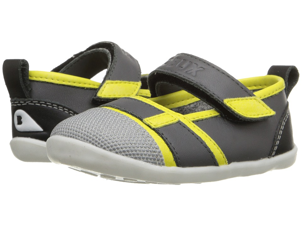 Bobux Kids - Step-Up Street Hydra (Infant/Toddler) (Yellow/Gray) Girl's Shoes
