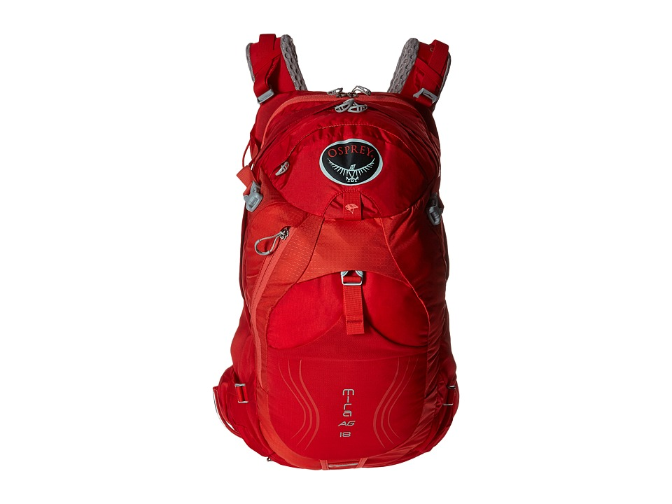 Osprey - Mira AG 18 (Cherry Red) Backpack Bags