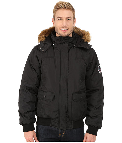 English Laundry - Pu Coated Jacket (Black) Men