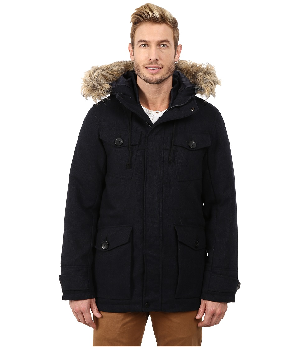English Laundry - Pu Coated Jacket (Navy) Men
