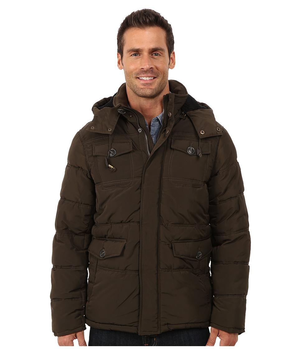 English Laundry - Pu Coated Jacket (Olive) Men