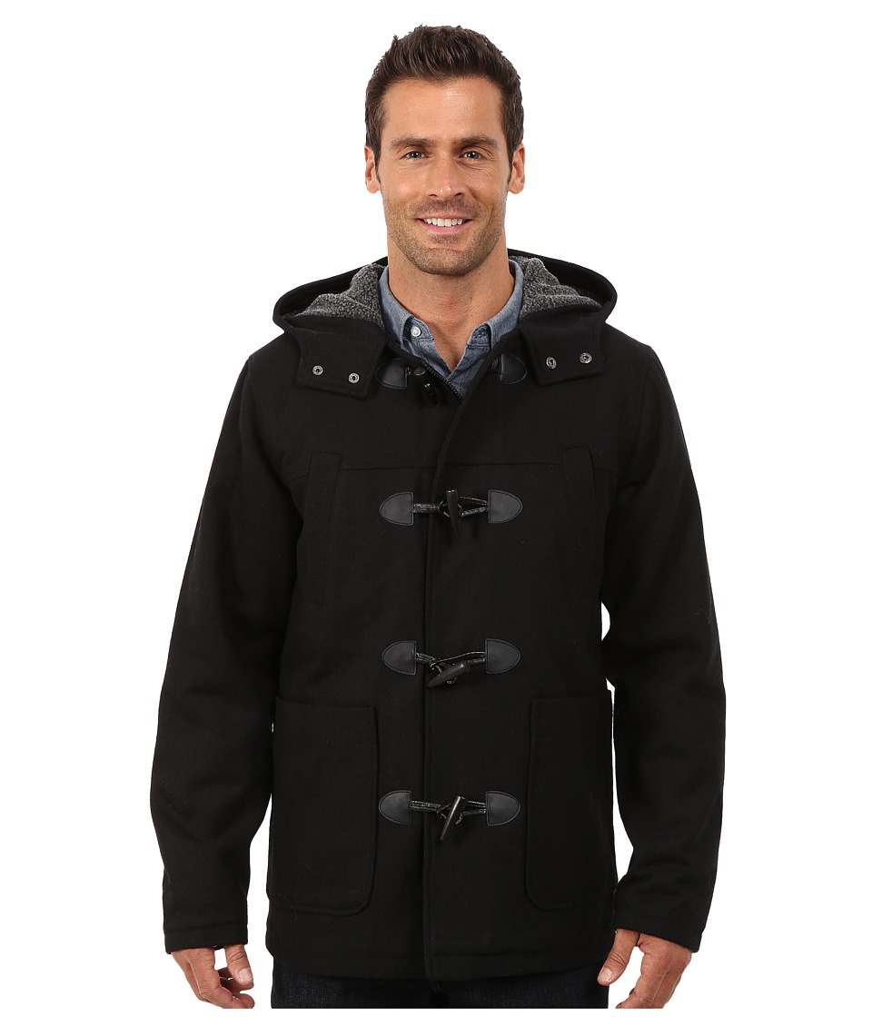 English Laundry - Water Resistant Jacket (Black) Men's Coat