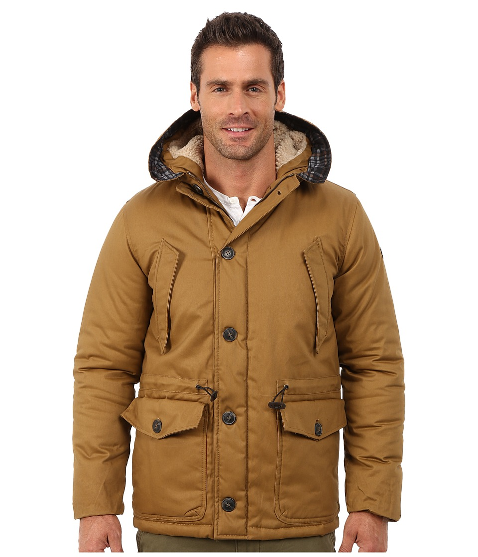 English Laundry - Cotton Wax Coated Jacket (Whiskey) Men's Coat