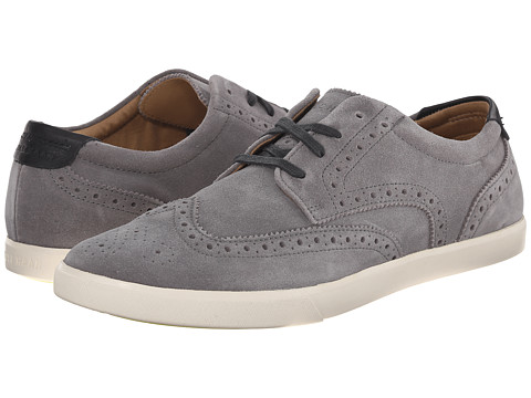 Cole Haan - Joshua SNK Wing Oxford (Pewter Suede) Men