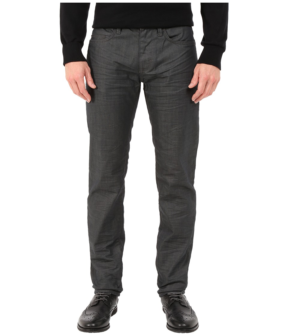 DKNY Jeans - Williamsburg Slim Jeans in Coated French Grey Wash (Coated French Grey Wash) Men's Jeans