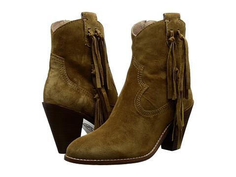ASH - Isha (Camel Baby Silk) Women's Zip Boots