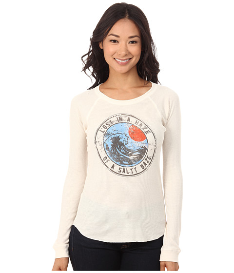 Billabong - Lost In A Haze T-Shirt (White Cap) Women