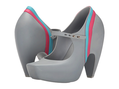 Melissa Shoes - Ginga Karl Lagerfeld (Grey/White) Women