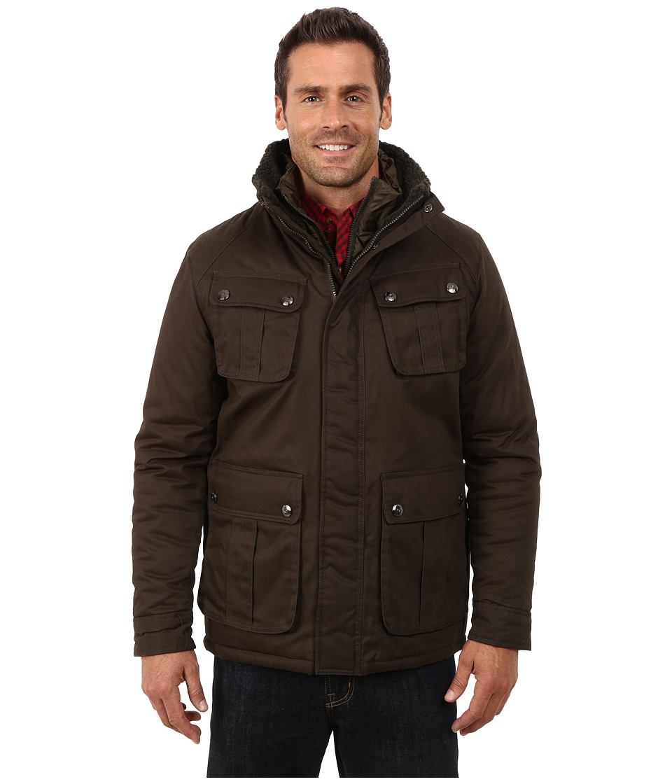 Steve Madden - Cotton Wax Coted Jacket (Olive) Men