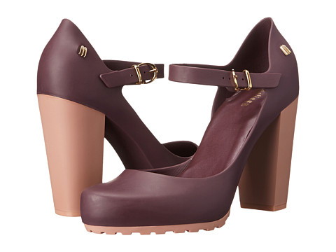 Melissa Shoes - Marilyn (Purple/Pink) High Heels