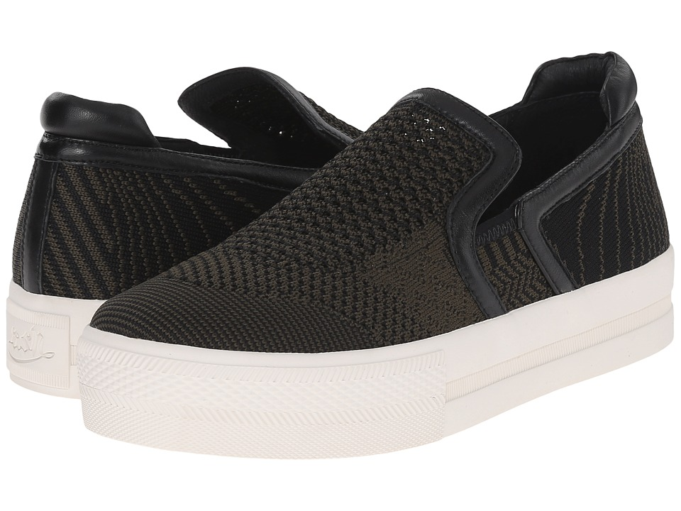 ASH - Jeday (Army Knit/Black Nappa Wax) Women's Slip on Shoes