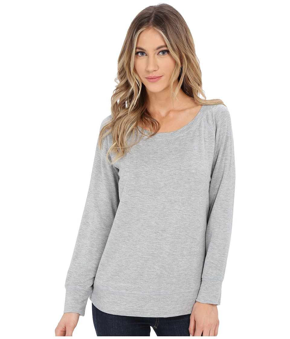 Culture Phit - Desi Long Sleeve Sweater (Heather Grey) Women's Sweater