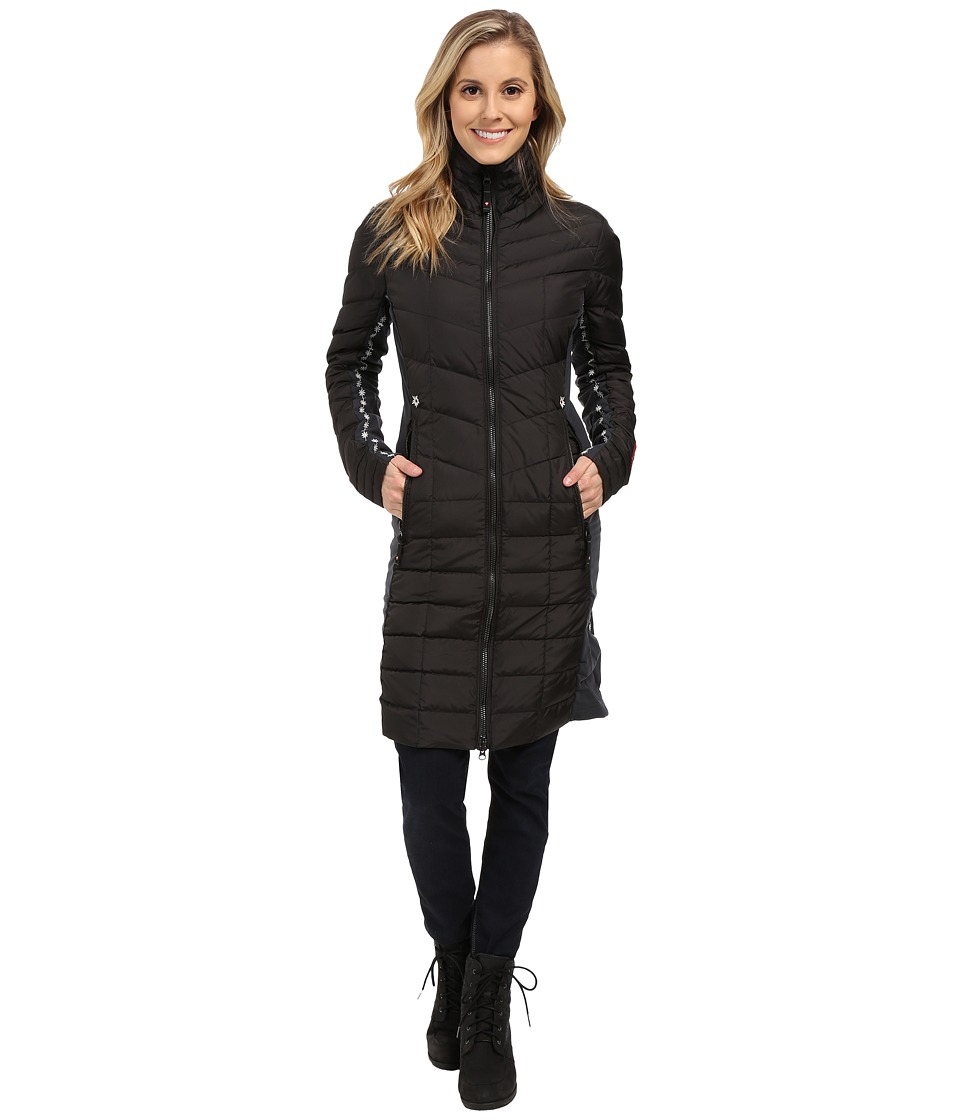 Alp-n-Rock - The Verbier Long Coat (Black) Women's Coat