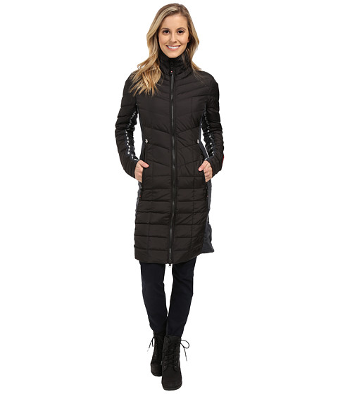 Alp-n-Rock - The Verbier Long Coat (Black) Women