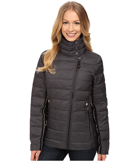 Alp-n-Rock - The Davos Jacket (Heather Black) Women