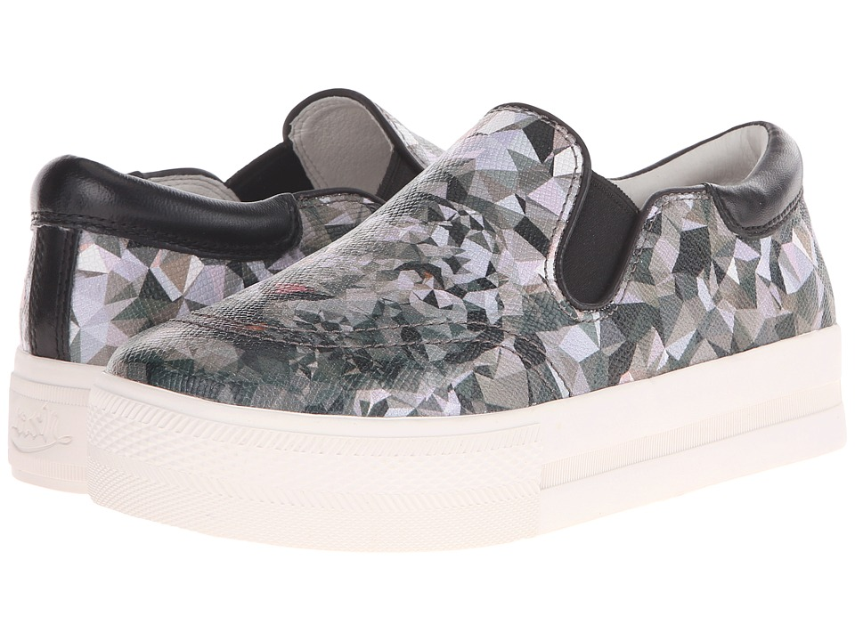 ASH - Jam (Grey Alpina Print/Black) Women's Slip on Shoes