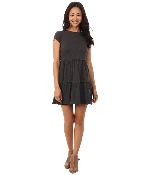 Billabong - In The City Dress (Off-Black) Women's Dress