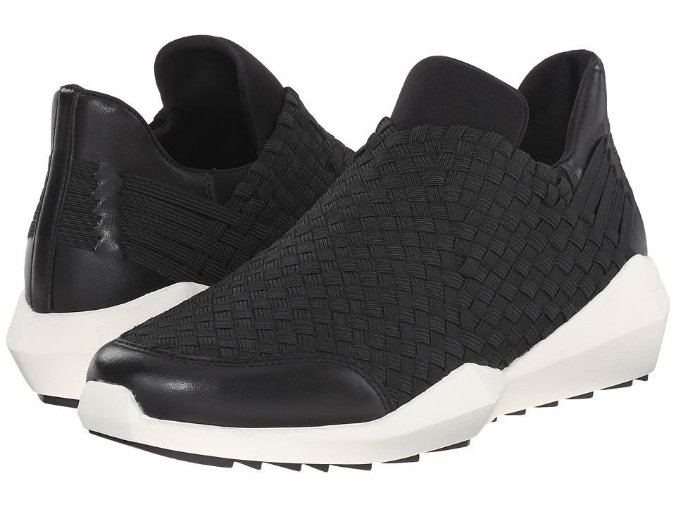ASH - Quartz (Black Nappa Calf/Black Plain Neoprene) Women's Slip on Shoes