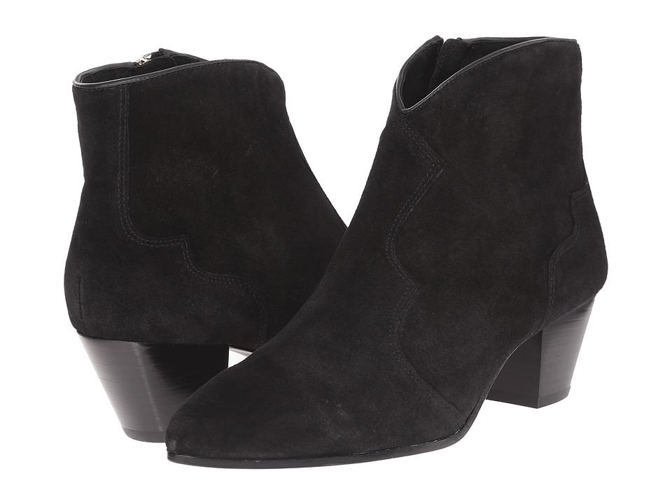 ASH - Hurrican (Black Baby Silk/Black Synthetic) Women's Dress Zip Boots